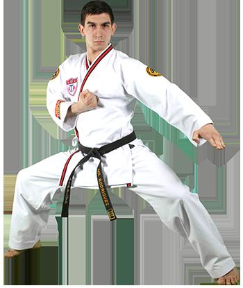 Black Belt Knifehand Low Block